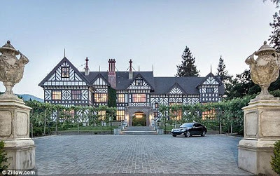 Homes of the rich and famous inside a 27million tudor for Inside homes rich famous