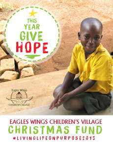 LostBumblebee ©2015 MDBN THIS YEAR GIVE HOPE- EAGLES WINGS CHILDRENS VILLAGE