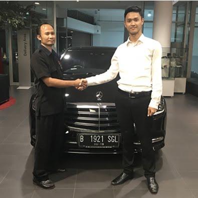 Pembelian S 450 L a/n Bapak Gunanto