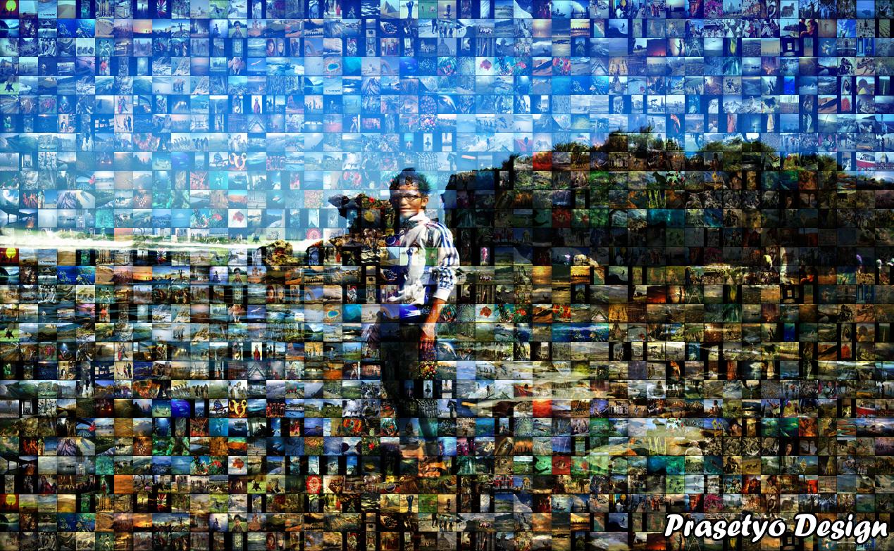 Tutorial Membuat Foto Mozaik Prasetyo Design Di Photoshop