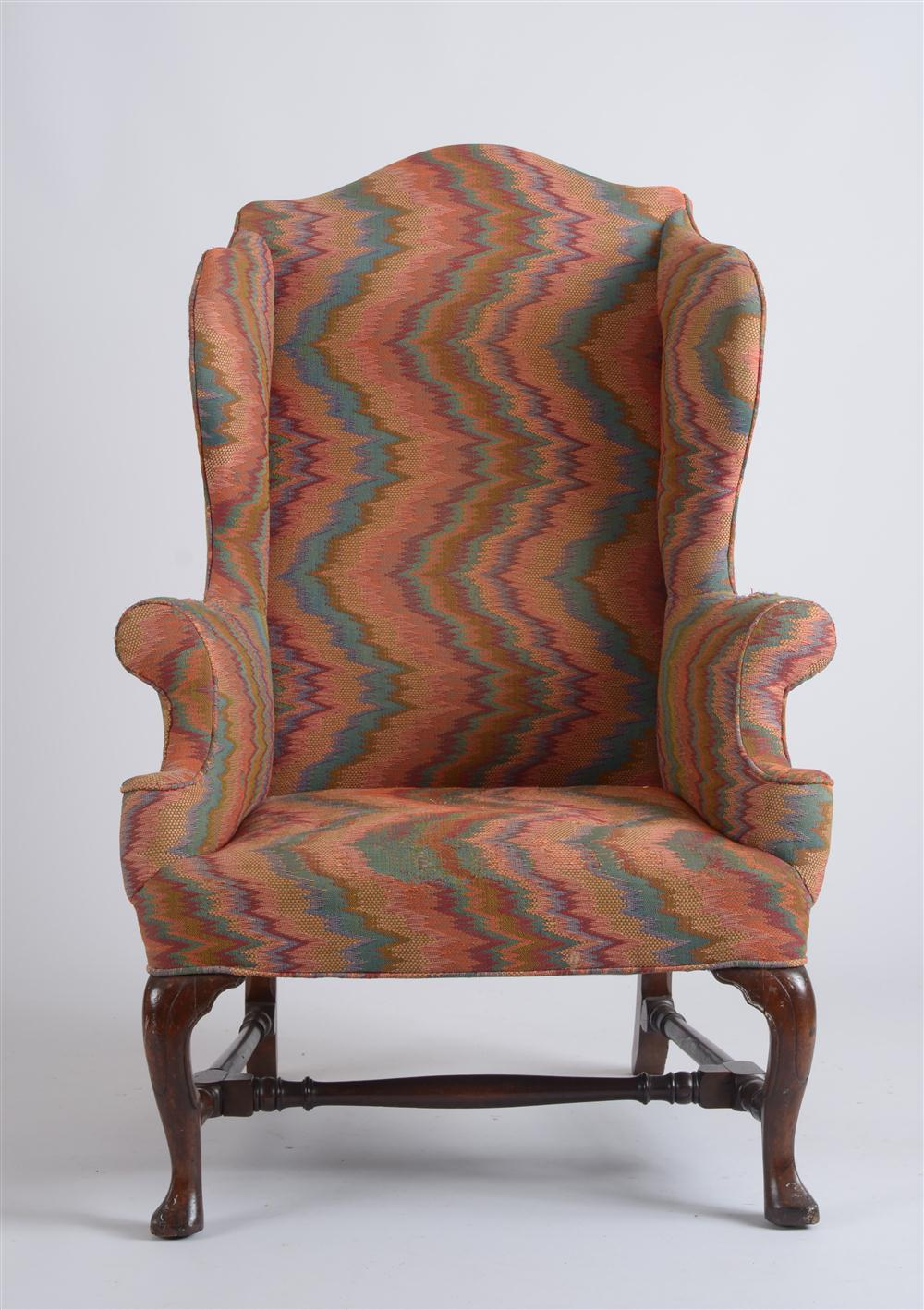 auctions are a great place to find wing back chairs this one is included in the next stair galleries americana auction in hudson ny august 13th