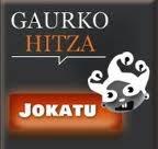 GAURKO HITZA