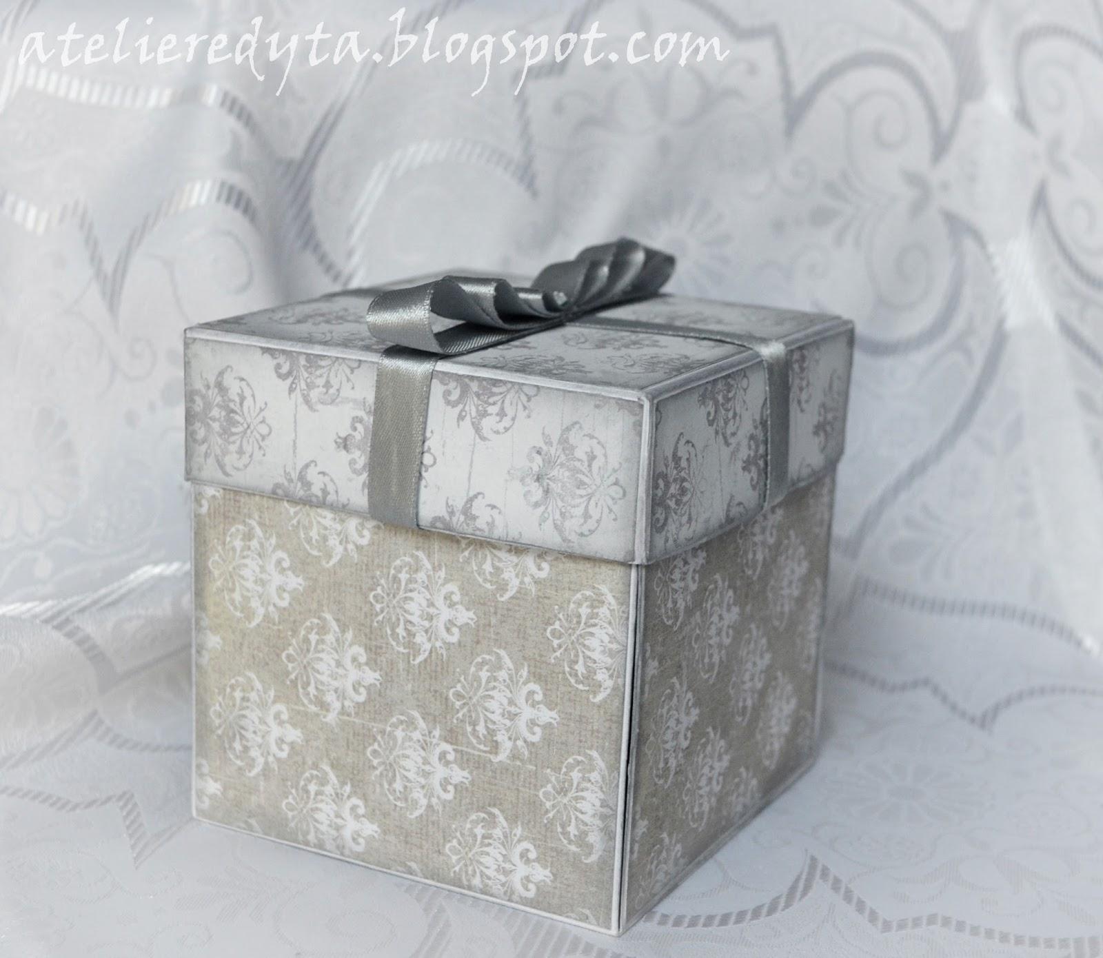 Exploding box na 50 urodziny