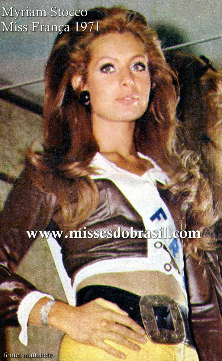 myriam stocco miss france universe 1971 miss world winners. Black Bedroom Furniture Sets. Home Design Ideas