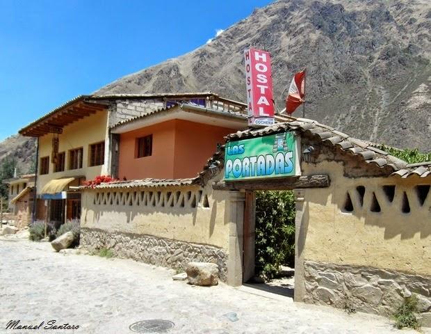 Ollantaytambo, Hostal Las Portadas