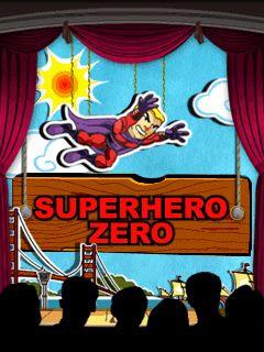 Screenshots of the Superhero Zero for java mobile, phone.