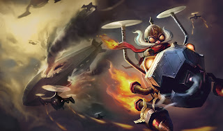 Corki, the Daring Bombardier