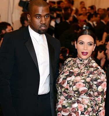 Kayne and Kim Kardashian best dressed couple