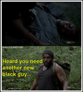 On humour and tyreese steps up the walking dead 3x08 memes
