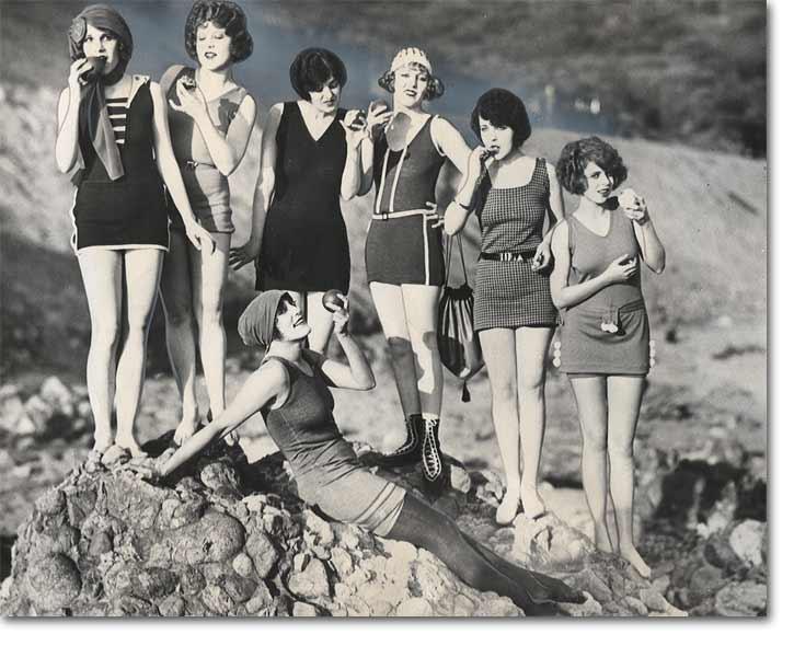vintage beach photo