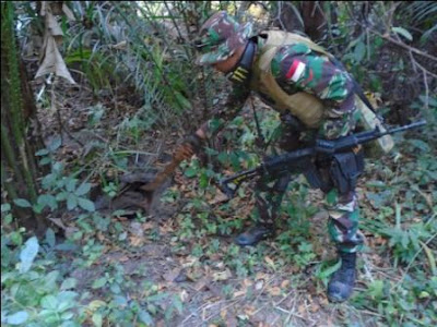 Prajurit TNI amankan Bahan Peledak di Afrika Tengah