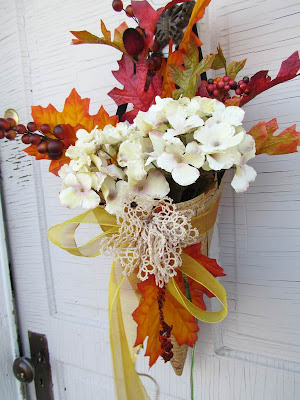 Fall Wreath, Fall Door, Fall Decorating, DIY Fall Door, Autumn Decor, Easy DIY Fall Craft