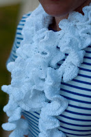 Pattern: Ruffled Summer Scarf