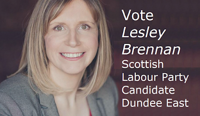 Vote for Lesley Brennan Scottish Labour Candidate Dundee East 7 May 2015