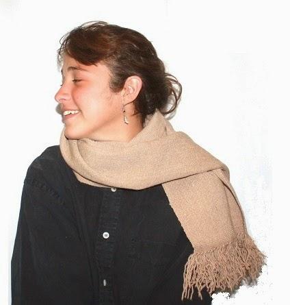 "BUFANDA N° 54 ""Familia Avar Saracho"" DE llama"