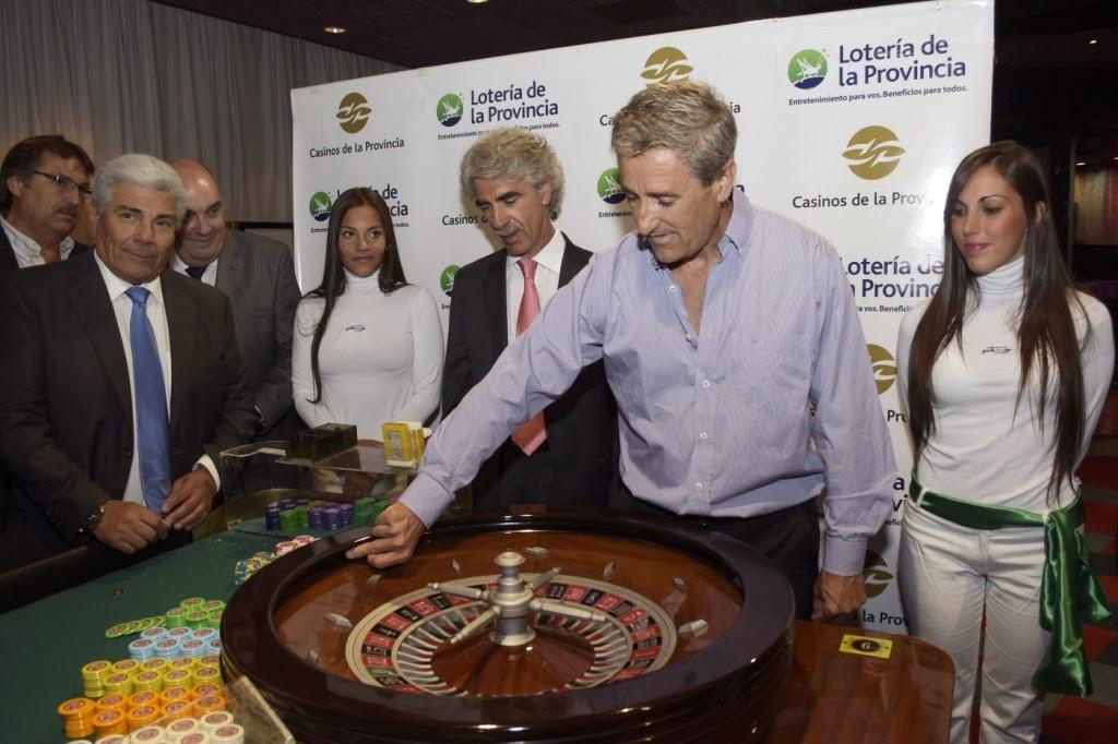 Se lanzó la Primera Bola de la Temporada en el Casino de Pinamar