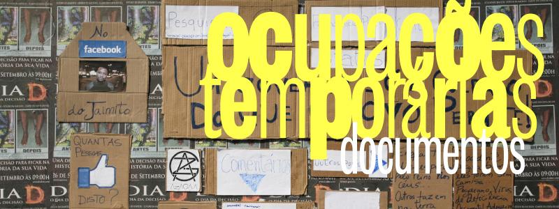 OCUPAÇÕES temporárias