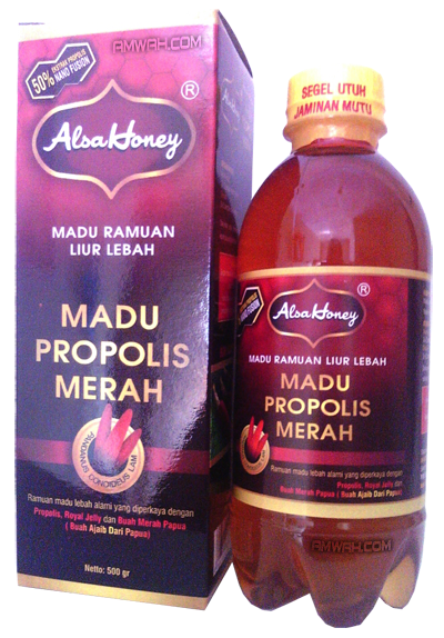 Madu Propolis Merah Alsa Honey An-Nuur