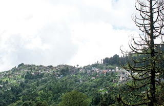 Ghoom Khasmal village in Darjeeling
