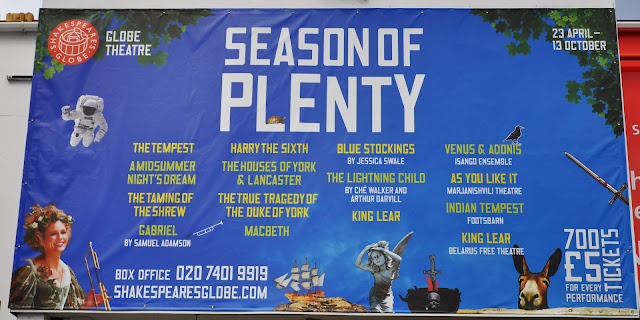 Season of Plenty at Shakespeare's Globe London