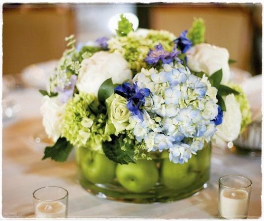 Recortes decorados flores perfectas para tu boda - Centros de boda ...