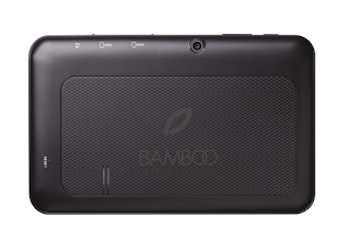 backview of Bamboo tablet