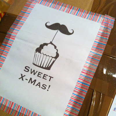 Sweet X-Mas Mustache