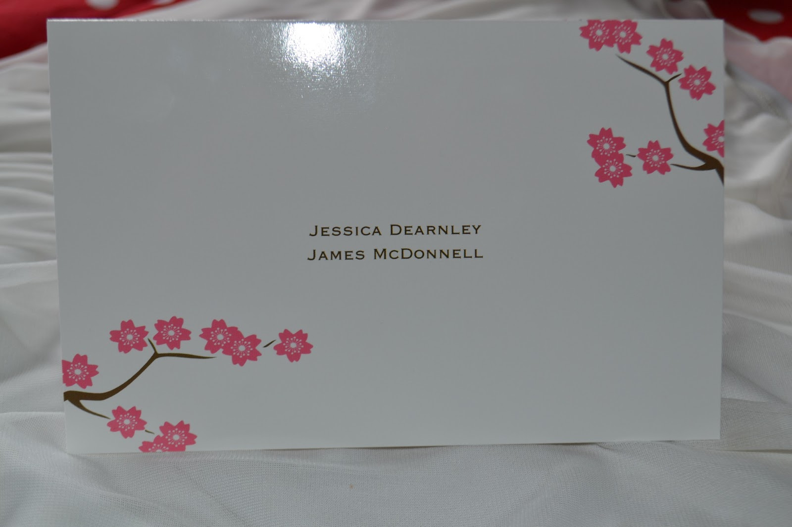 Forevermissvanity a uk lifestyle blogger here comes the bride i love the little flowers and the simplicity of this invitation when dreaming of my perfect invites i was looking for something along these lines monicamarmolfo Gallery
