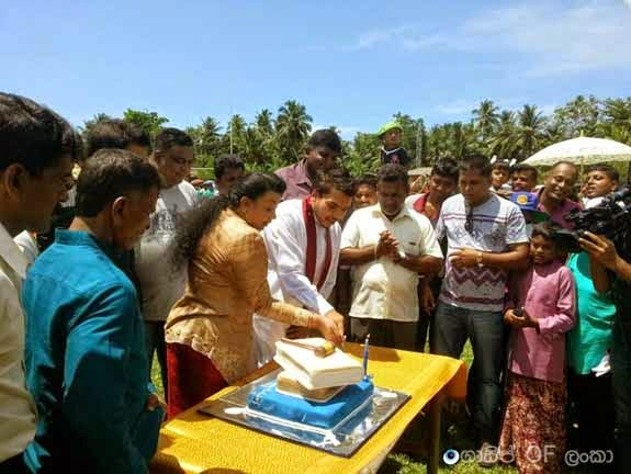 Namal Rajapaksa Celebrates his birthday in Carlton Pre School