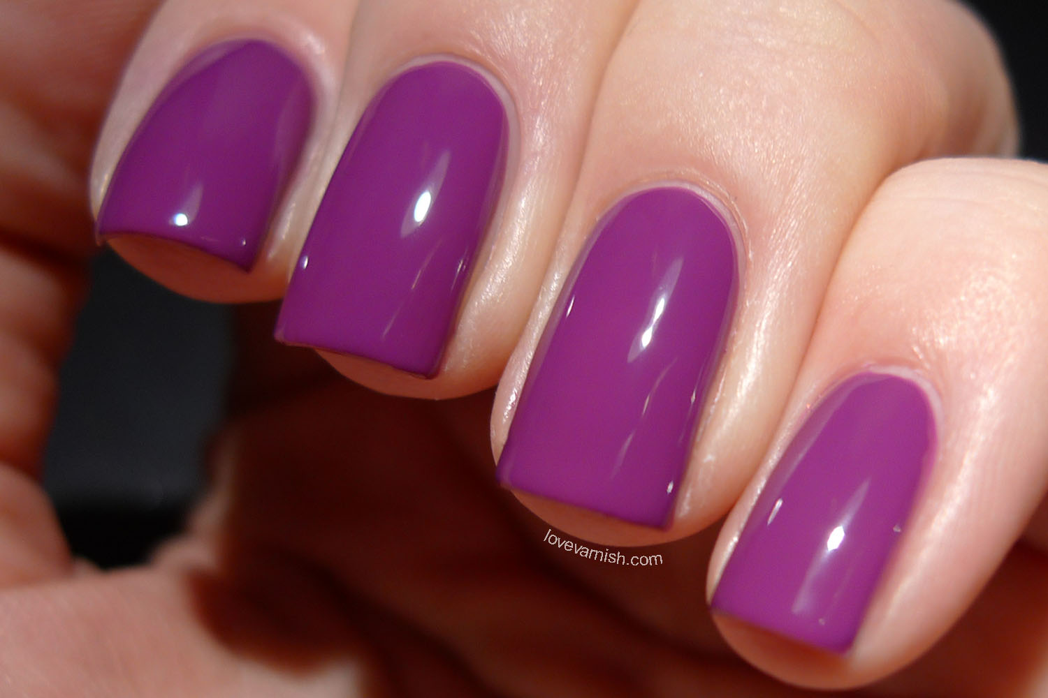 Catrice Inner Purple Of Trust purple nail polish 2014 release