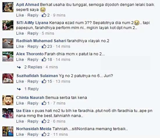 Netizen kritik keputusan juri dalam final Gegar Vaganza 2