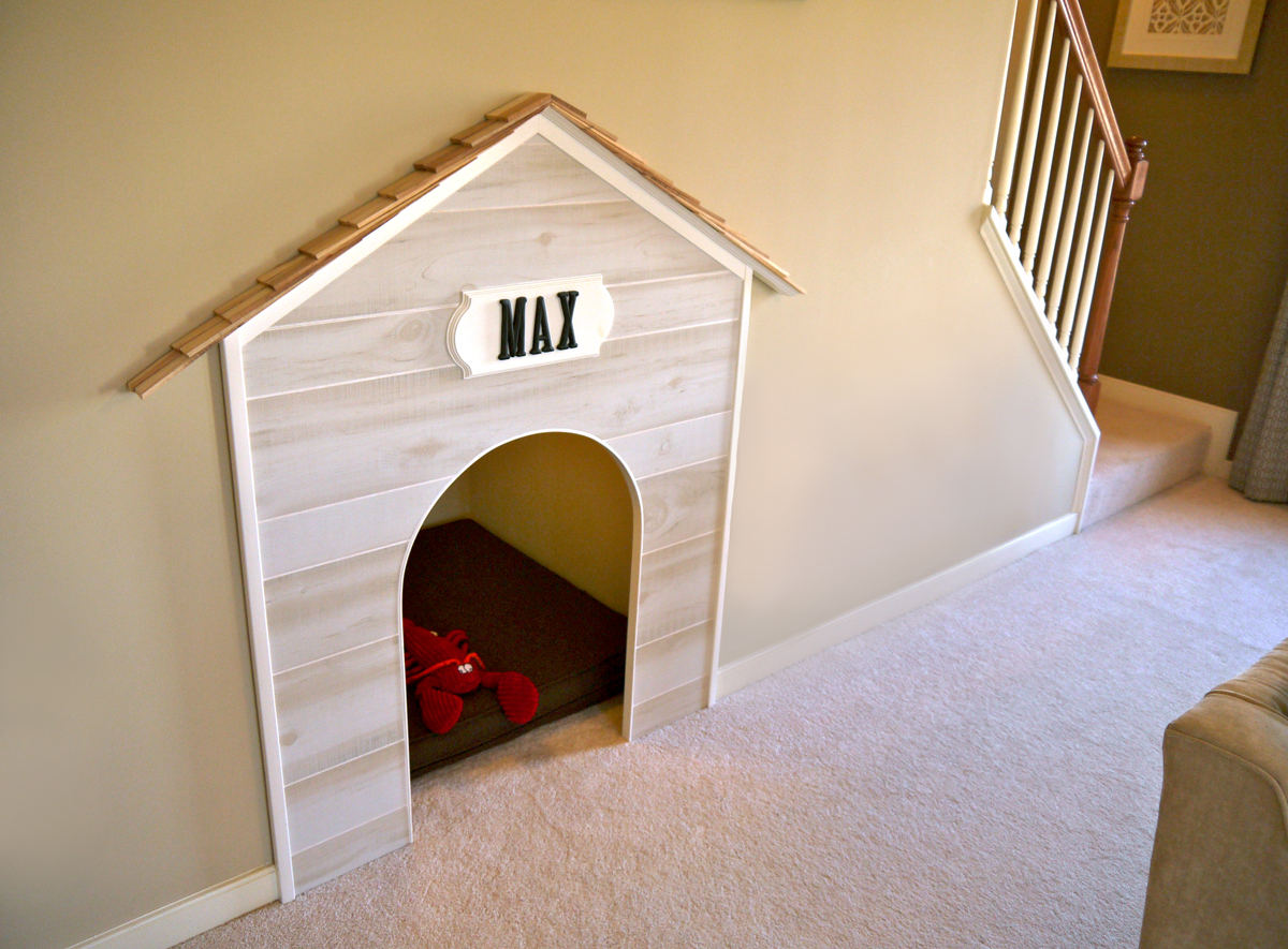 Stylish Built In Dog Beds And Kennels Driven By Decor