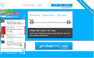 chatwing لزوار موقعك للدردشة معهم واصدقاء الدردشة