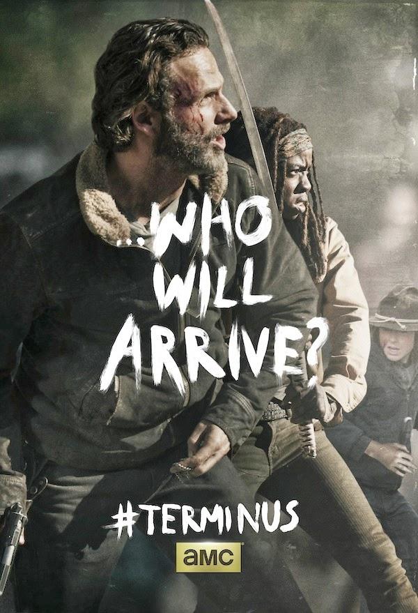 """Poster de la season finale de """"The Walking Dead"""" (T4)"""