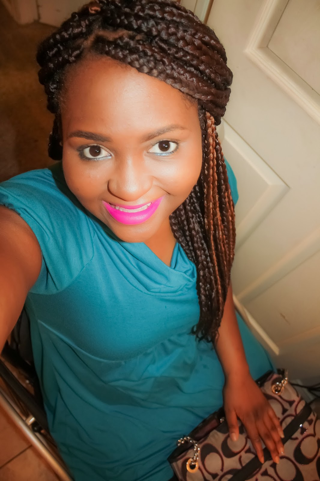 The do it yourself lady diy box braids i did with xpression and now some during braiding pictures and blabbing solutioingenieria Choice Image