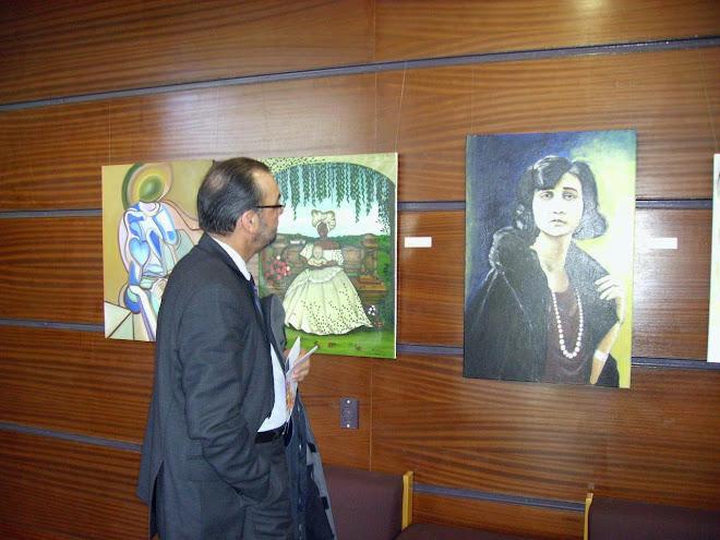 The works of Aucta Duarte, Beatriz Dondici and Eulália Gonçalves