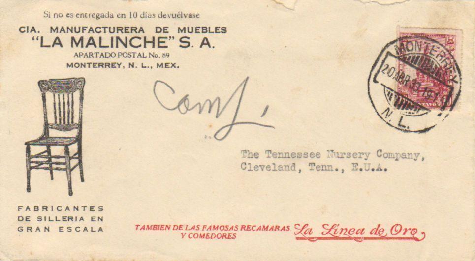Monterrey m xico cartas con membretes for Mueblerias de maldonado