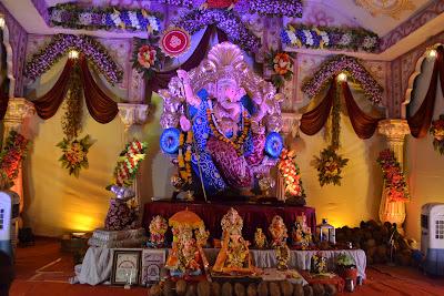 Limda Chawk Mandal Wonderful Ganesh Decoration