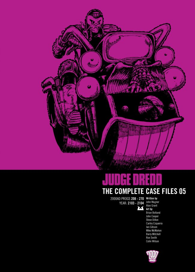 Judge Dredd: The Complete Case Files issue 5.1 - Page 1