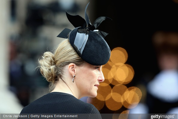 Sophie, Countess of Wessex attends a Service of Commemoration for troops who were stationed in Afghanistan