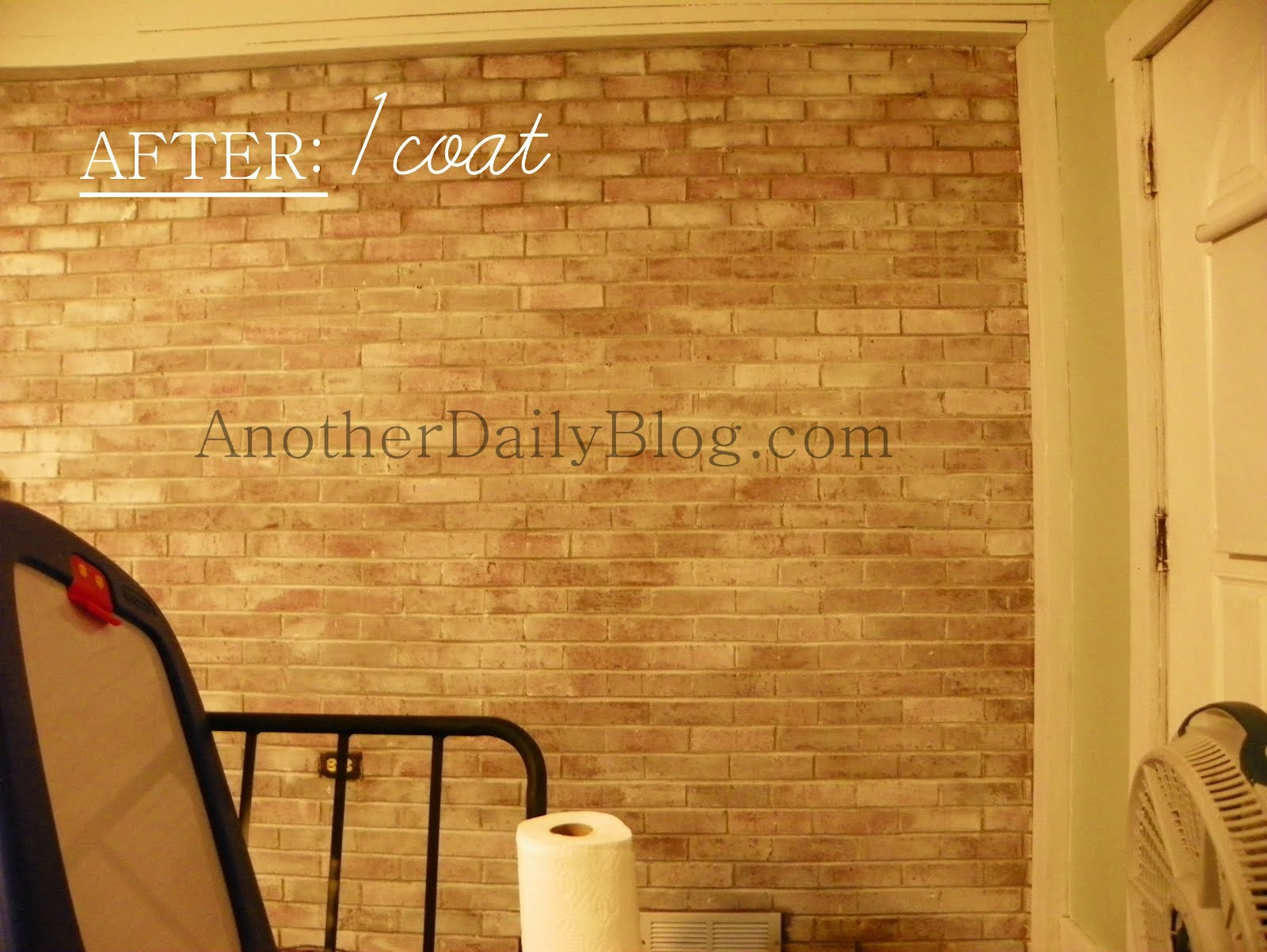 another daily blog white washing red brick