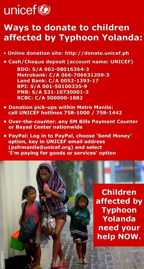 CebuOnlineTV-Yolanda-Donations-Unicef