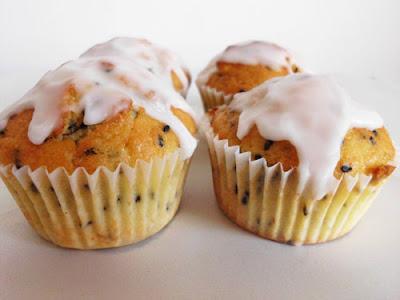 Lemon Poppy Seed Muffins with Lemon Glaze | www.happyhealthymotivated.com
