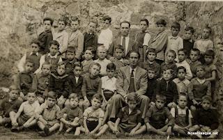 Grupo escolar de candelario Salamanca en 1940