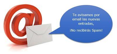 Suscríbete por email al blog.