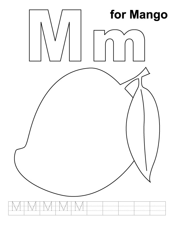 mango coloring pages - photo#32