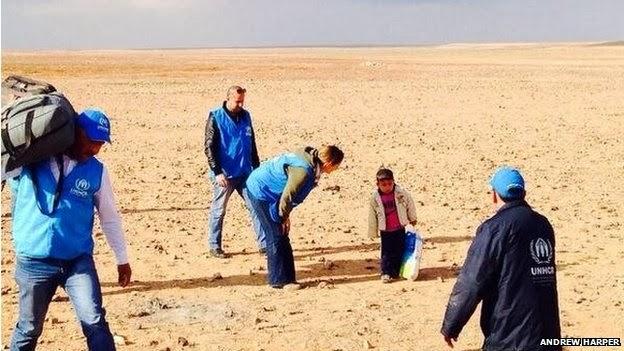 Kisah Sebenar Seorang Budak Ditemui Di Padang Pasir