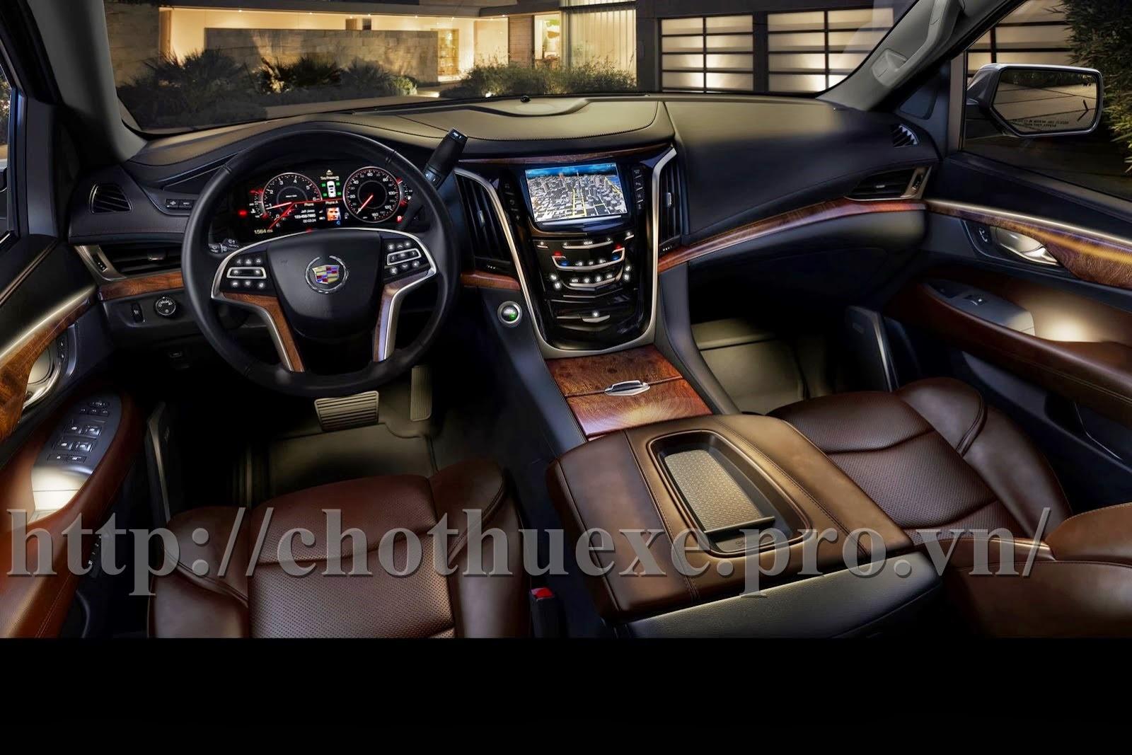 Cho thuê xe Cadillac Escalade 1