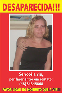 JOANA XAVIER DE SOUZA LISBOA - DESAPARECIDA