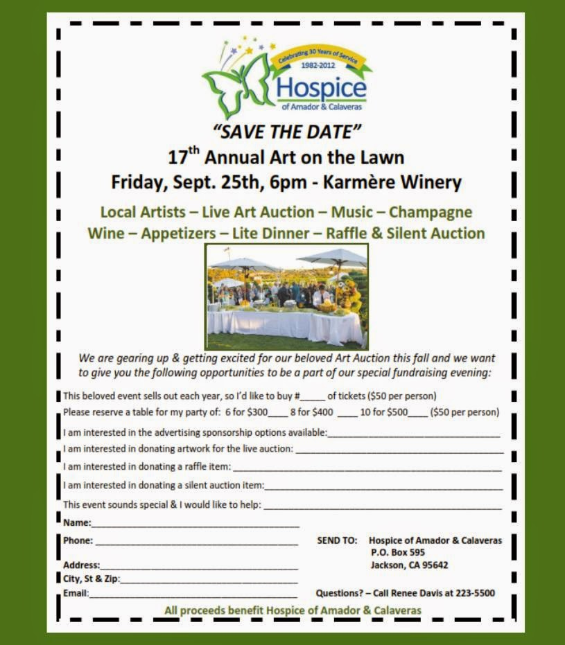 17th Annual Art on the Lawn at Karmere Winery - Fri Sept 25